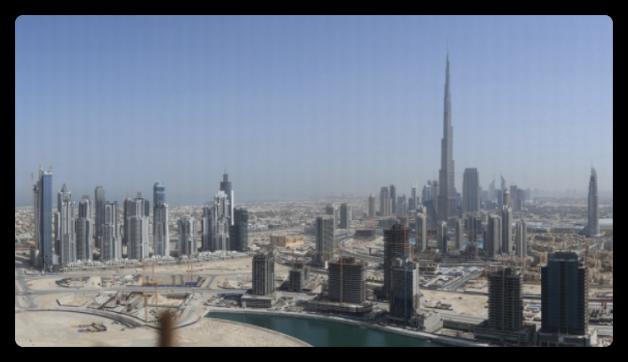Gigapan : Dubai 45 Gigapixels