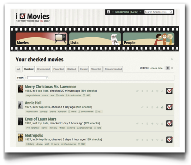 I Check Movies
